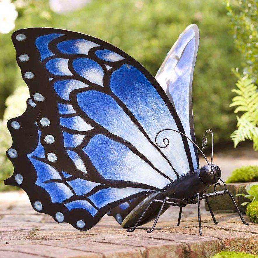 Large Metal Butterfly Statue Butterflies Outdoor Butterfly