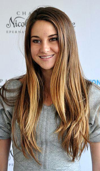 Shailene Woodley Straight Hairstyles Hair Styles Shailene Woodley Hair