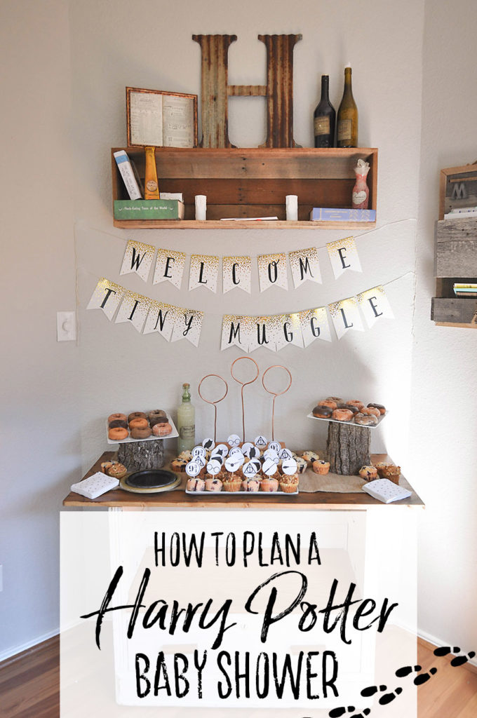 Harry Potter Baby Shower Ideas & Free Printables