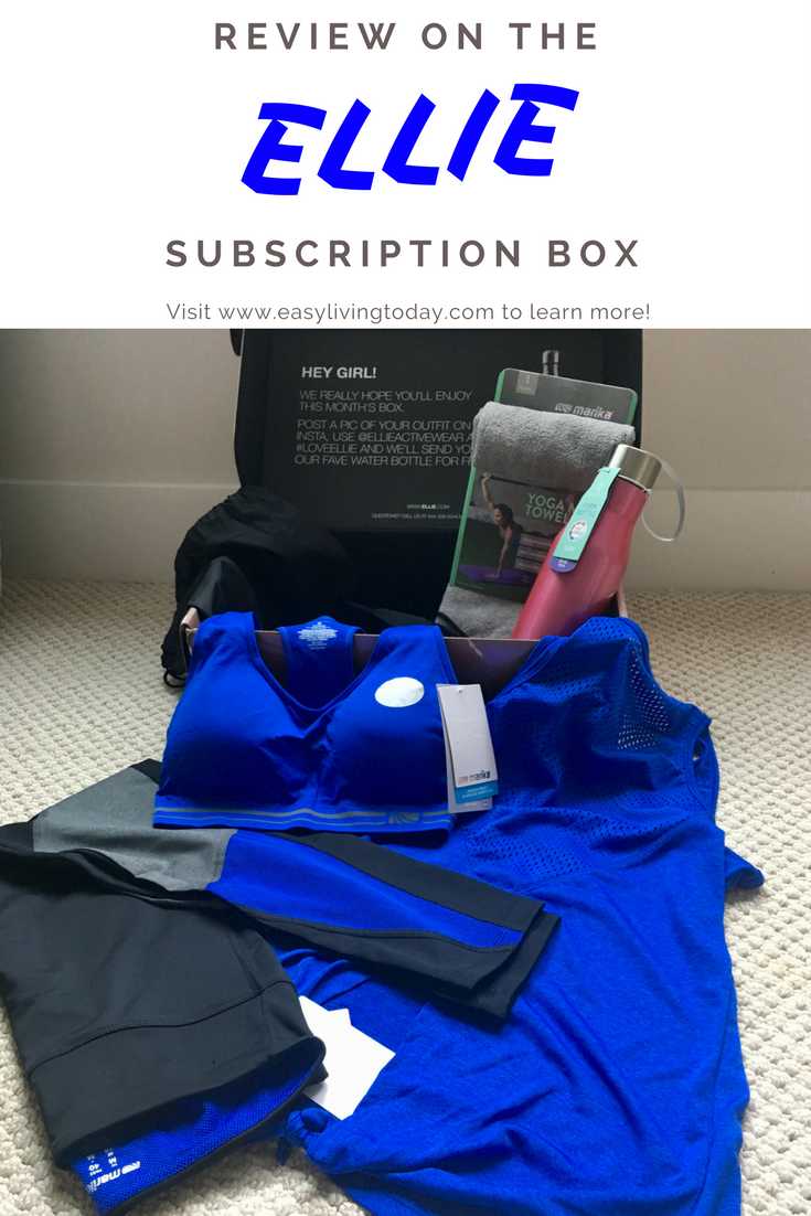 Target Monthly Box: Best Subscription Box For Cute Workout Clothes