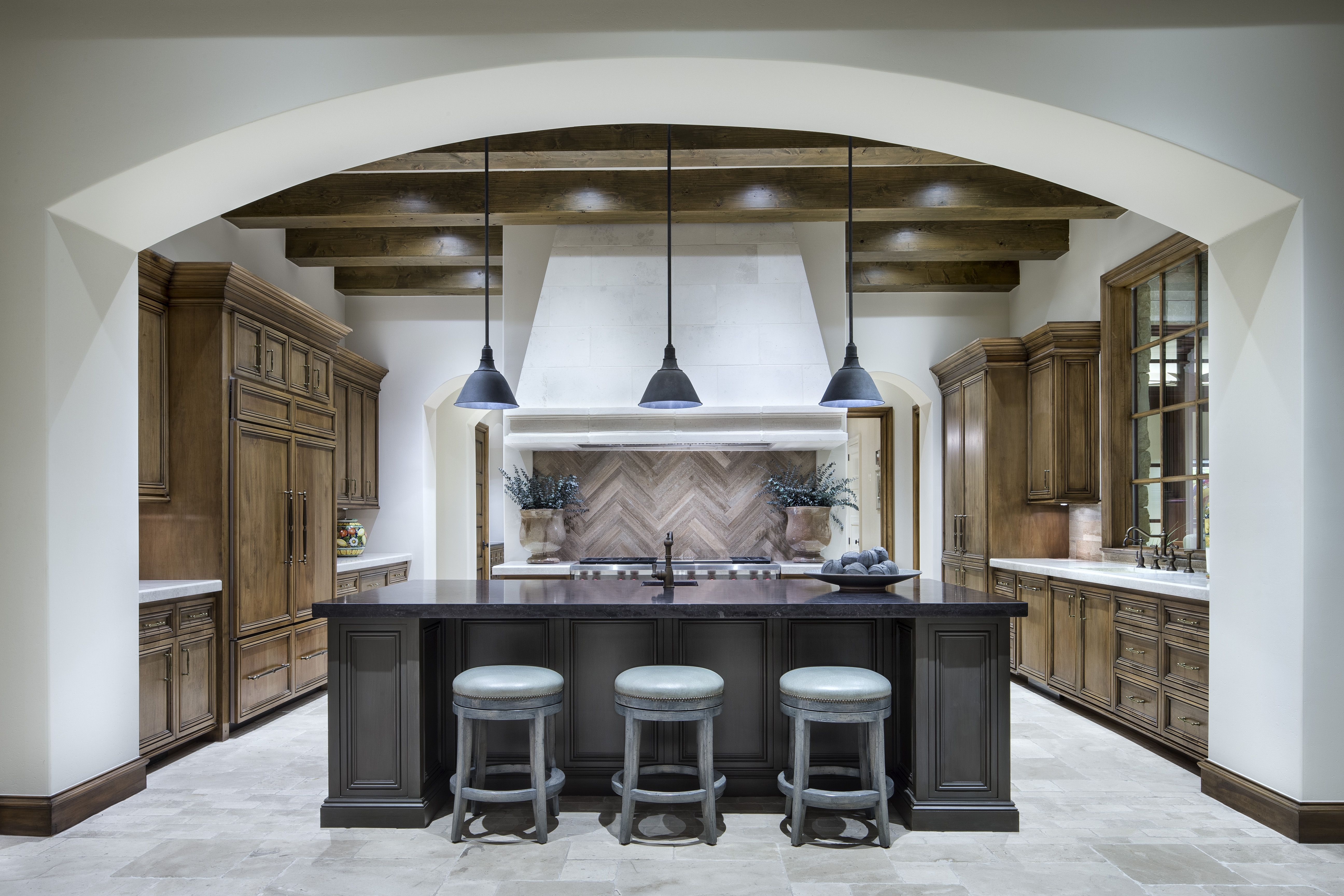 High Quality Luxurious French Country Modern Kitchen Design + Build By Jauregui  Architecture Interior Construction Part 19