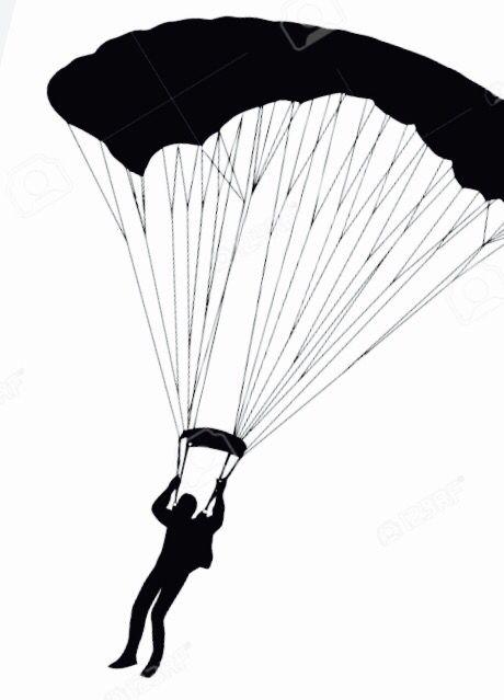 http www 123rf com clipart vector black parachute html tattoos rh pinterest com parachute vector free parachute vector images