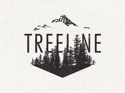 implied hexagon / treeline by Bryan Rees