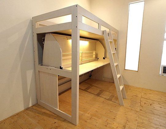Best 二段デスクベッド Bed Loft Bed Loft 400 x 300