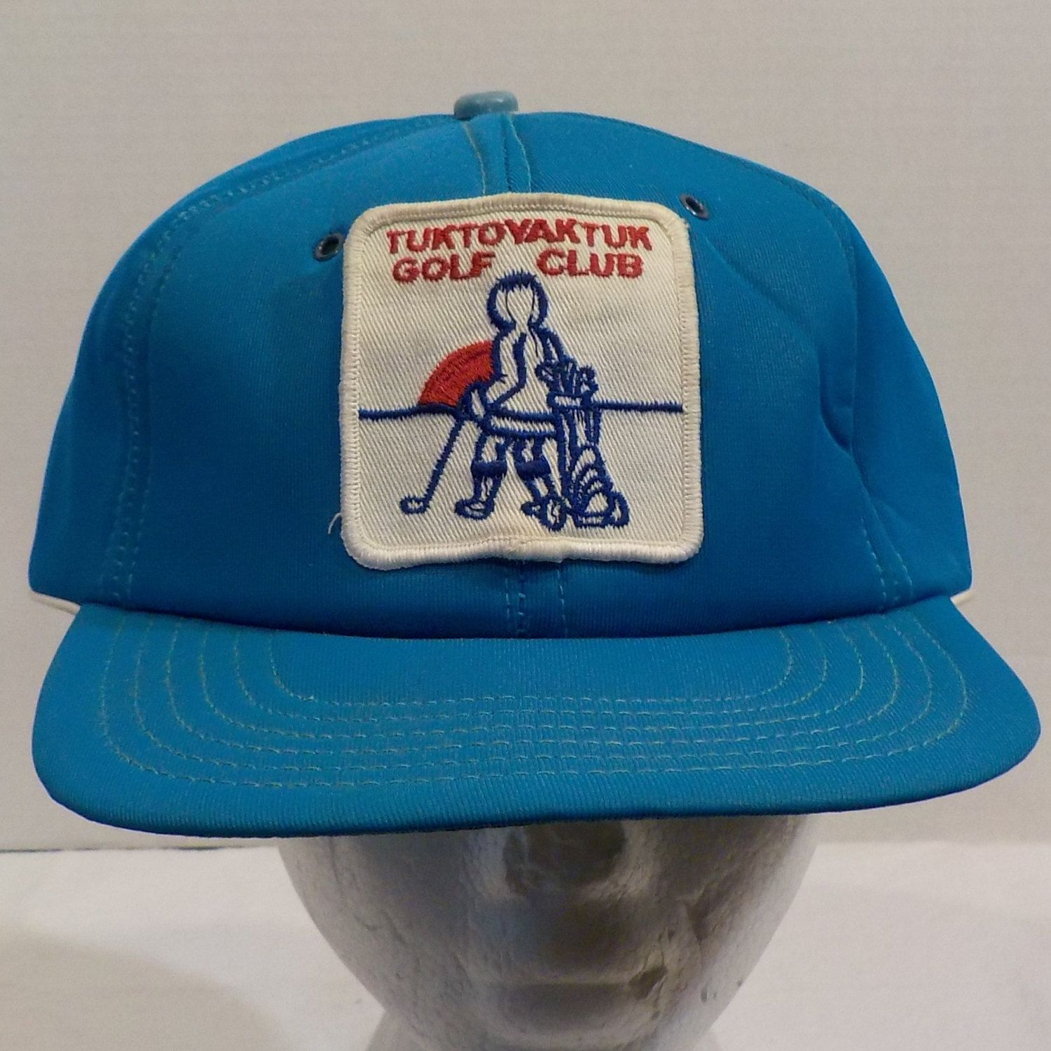 Tuktoyaktuk Golf Club Vintage Baseball Truckers Cap Hat Snap Back by  LouisandRileys on Etsy 3261d5841dc4