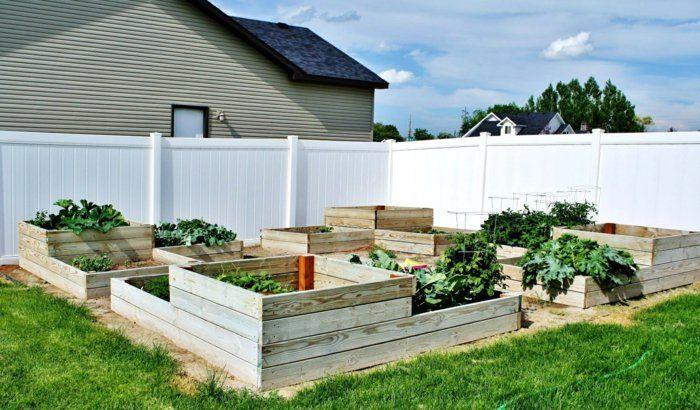 gartenideen hochbeet holz hochbeete Gartengestaltung u2013 Garten - gartenideen wall