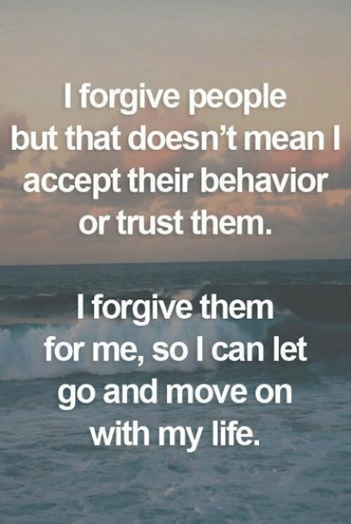 weisheiten verzeihen