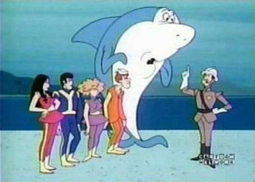 Delicieux Jabber Jaw Was A Cartoon That Made Sharks Seem Less Perilous. Until JAWS