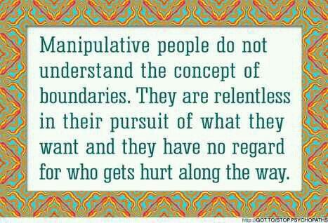 how to be manipulative and get what you want
