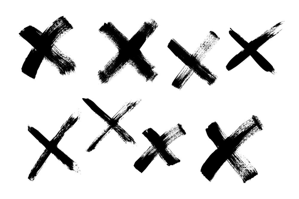 8 Grunge X Brush Stroke Png Transparent Vol 2 Onlygfx Com Brush Stroke Png Brush Strokes Png
