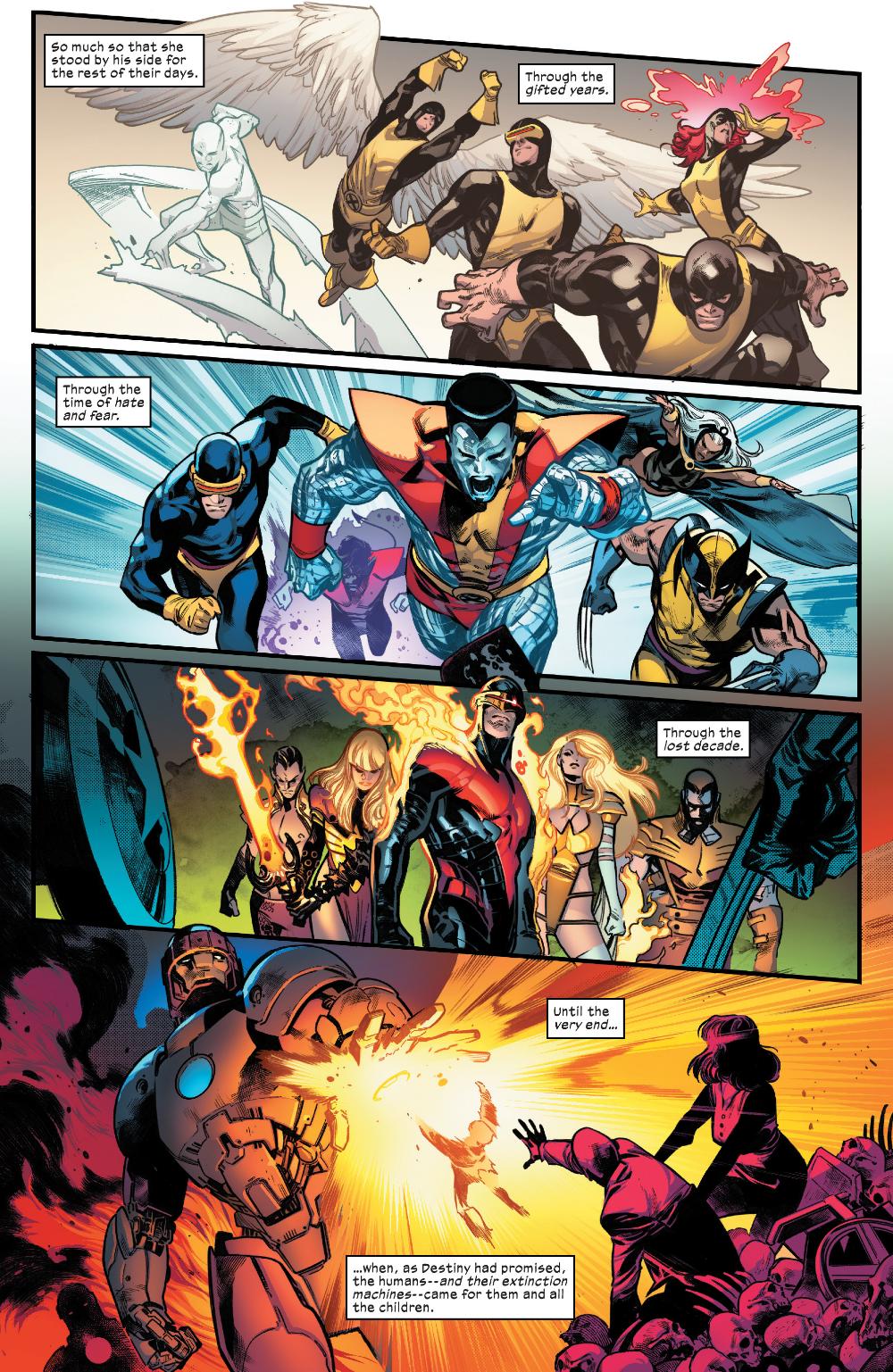 House Of X 2019 Chapter 2 Page 1 In 2020 Marvel Comics Art Xmen Comics Infinity Gauntlet Comic
