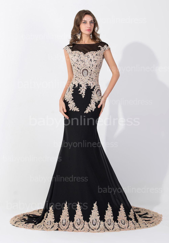 robe soir�e blanc et noire turque� - ���