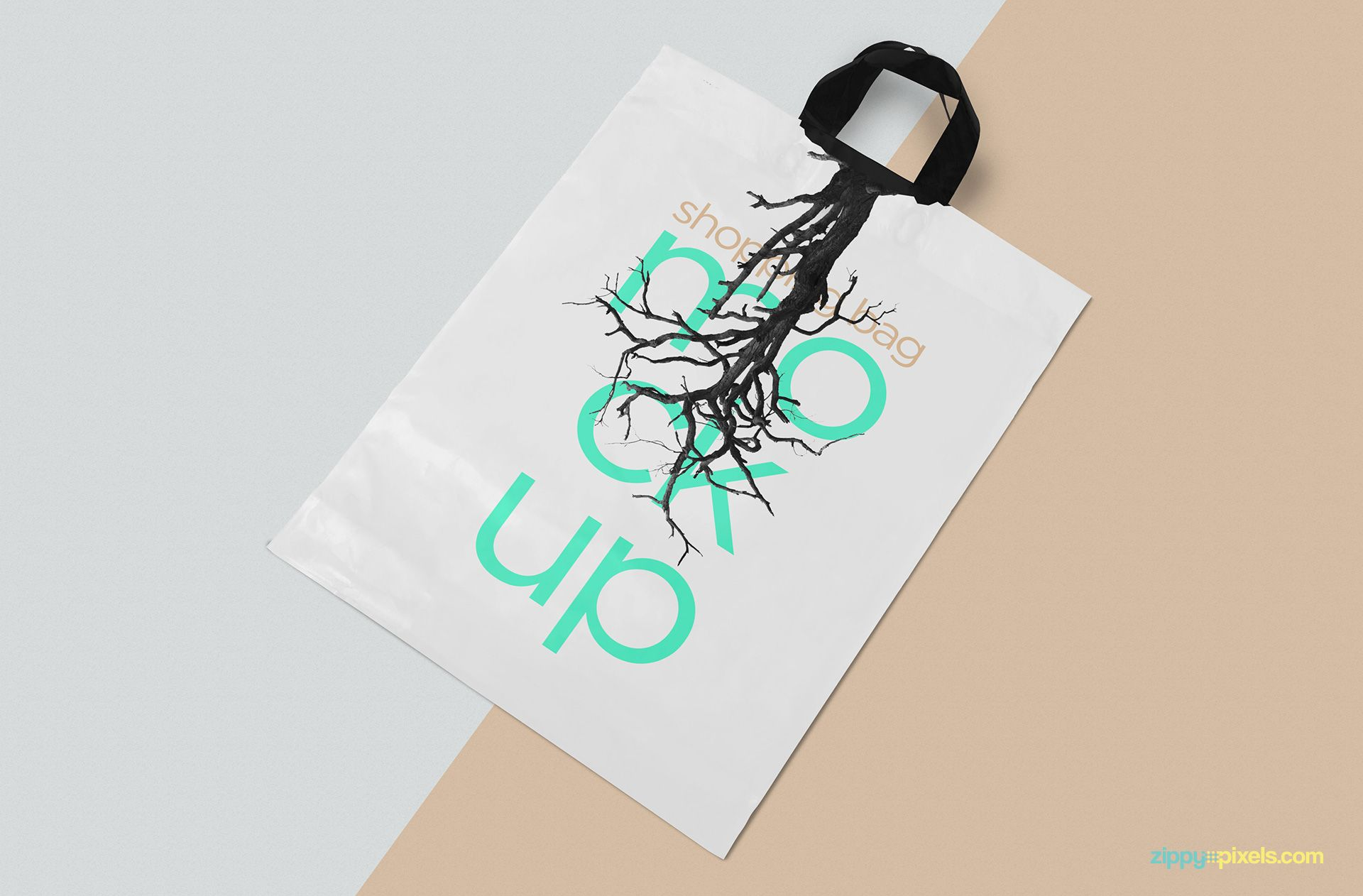 Download Polythene Shopping Bag Mockup Free Psd Zippypixels Bag Mockup Bags Mockup Free Psd