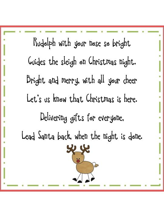 Rudolph the reindeer | POEMS | Pinterest | Shared reading