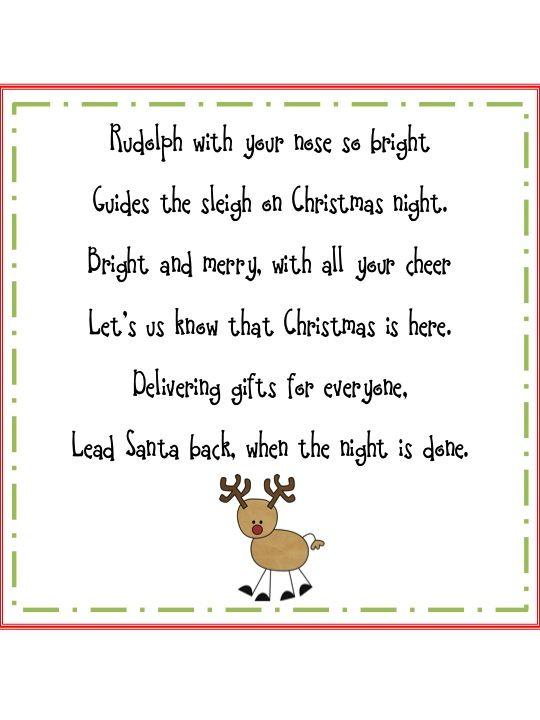 Rudolph the reindeer | POEMS | Pinterest | Shared reading