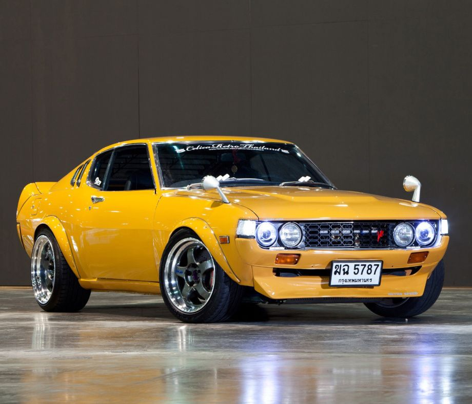 Sirichai's 1UZ-FE-powered TA-28 Celica