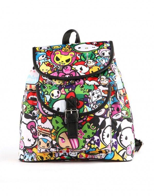 d73852819 tokidoki x Hello Kitty Backpack | cute | Hello kitty backpacks ...