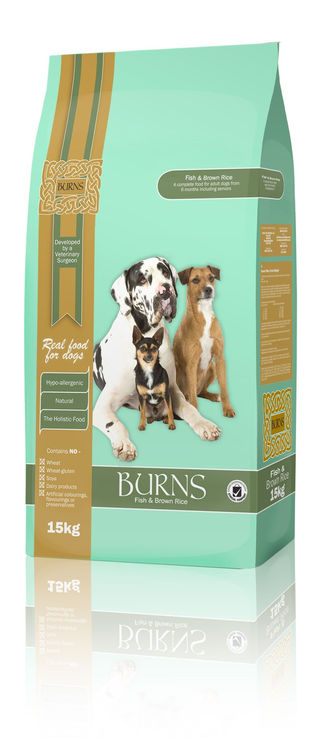 Burns Fish Brown Rice Dog Food That We Stock Dog Food