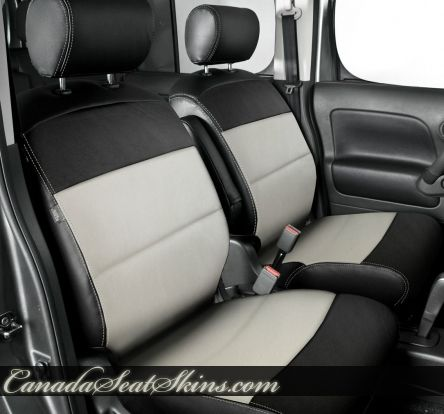 Nissan Cube Leather Upholstery Nissan Cube Leather Seat Covers Nissan Cube Katzkin Leather