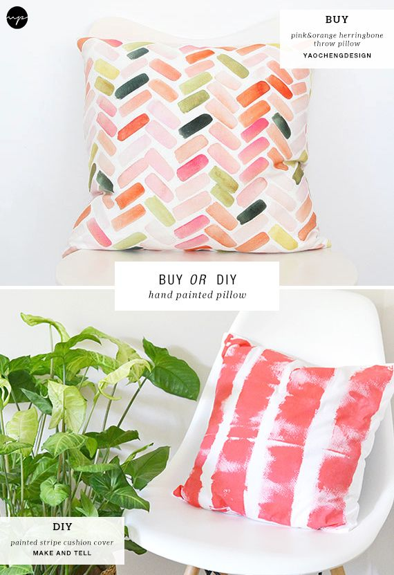 Buy Or Diy Hand Painted Pillows With Images Hand Painted