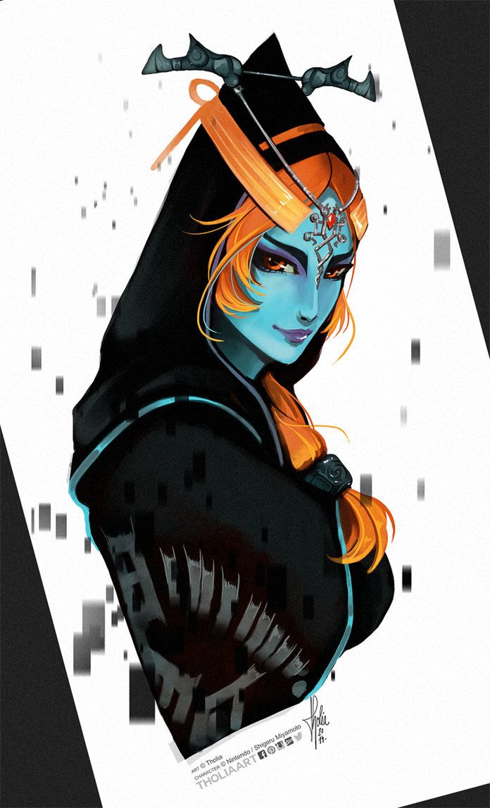 Midna Hyrule Warriors by TholiaArt | Midona | Pinterest ...