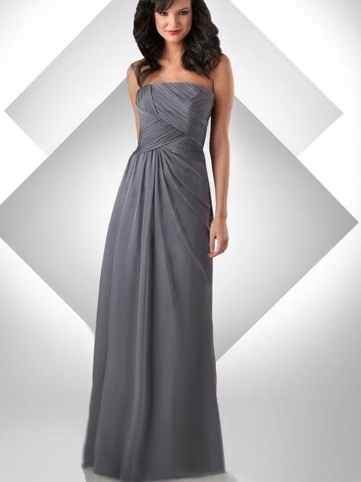 A-Line Strapless Chiffon Evening/Prom Dress | 2013 New Arrival ...