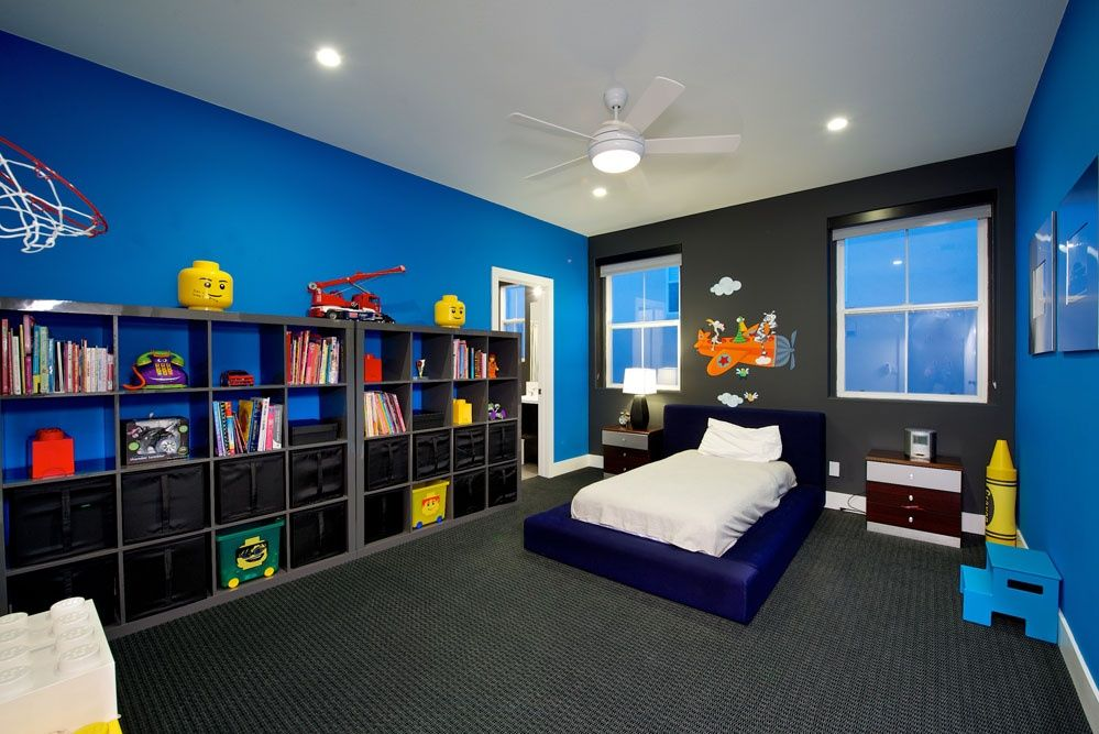 Great Contemporary Kids Bedroom Kids Bedroom Kallax Kids Room Cool Kids Bedrooms