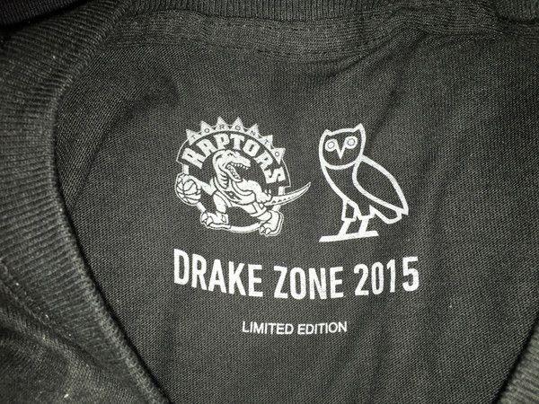 NBA 2015 DRAKE ZONE Toronto Raptors OVO 33f6cc1fc