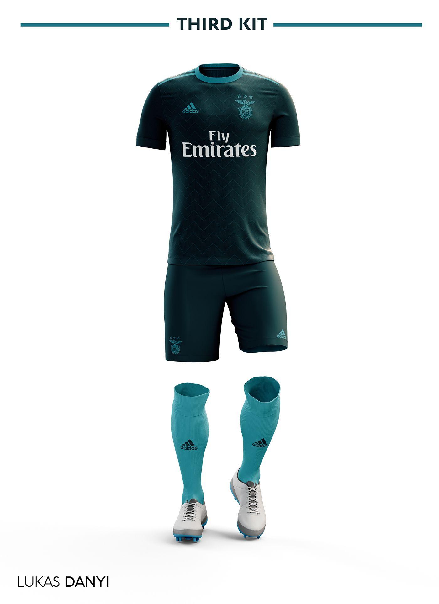 Football com category football kits image sl benfica 1st kit - Sl Benfica Football Kit 17 18 On Behance Football Kits