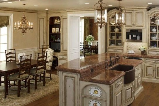 Authentic Old World Kitchens Designs