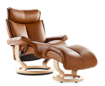 Stressless Magic Large Leather Recliner Chair Stressless Recliner Stressless Chair Recliner
