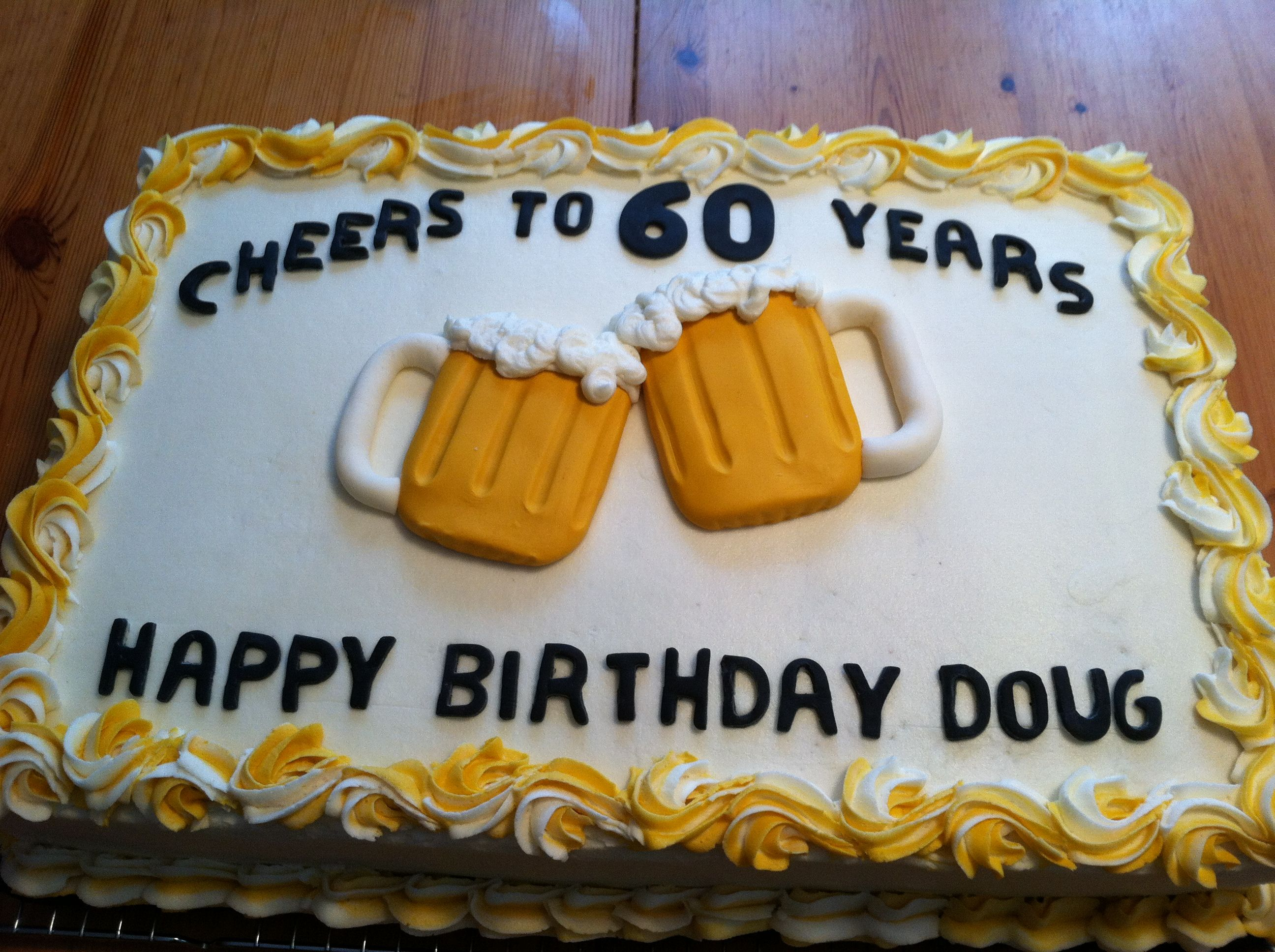 Mug Shaped Cake