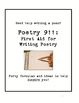 help on writing a poem General writing help, poetry analysis writing, literary elements activities will help students: develop their understanding of what a poem is and gain strategies for reading poetry practice working with different forms of poetic the worksheets on this page guide students through the.
