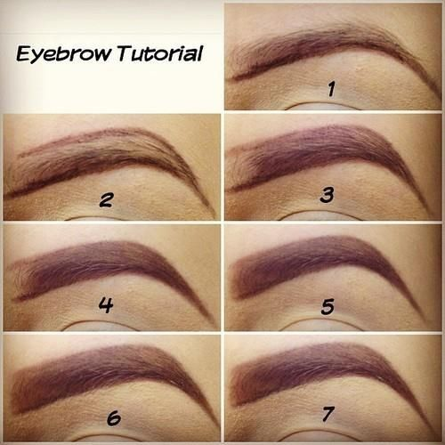 Diy Eyebrow Tutorial Pictures Photos And Images For Facebook Tumblr Pinterest And Twitter Easy Eyebrow Makeup Eyebrow Tutorial Eyebrow Makeup Tutorial