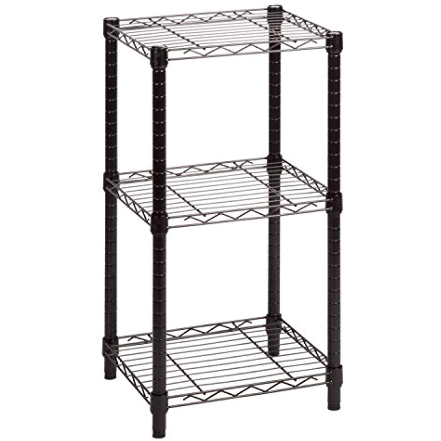 Honey Can Do Shf 02218 3 Tier Steel Wire Shelving Tower Black 14 By 15 By 30 Inch Want To Know More Click On The Im Wire Shelving Shelving Shelving Unit
