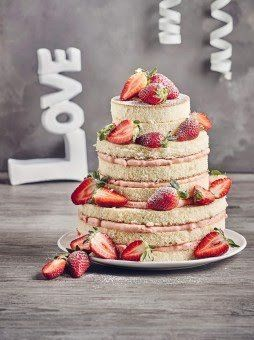 Hochzeitstorte Naked Recipe Cake Pinterest Cake Wedding