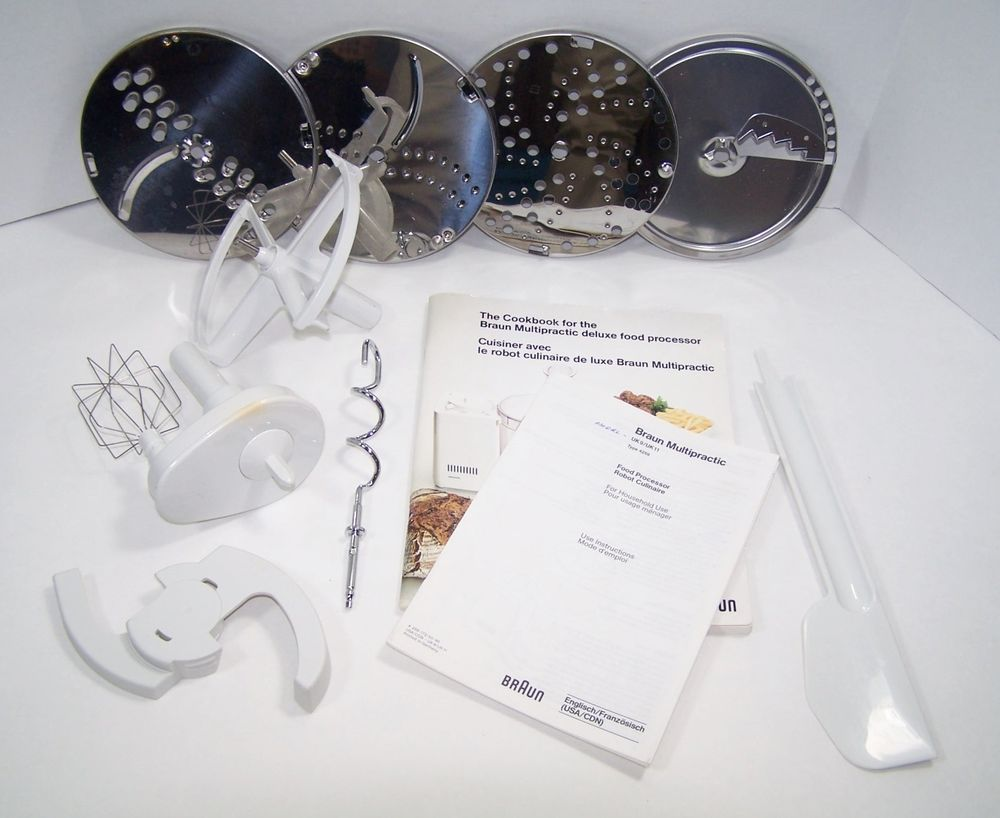 Braun Food Processor Parts 4259 Disc Carrier Whisk Arm