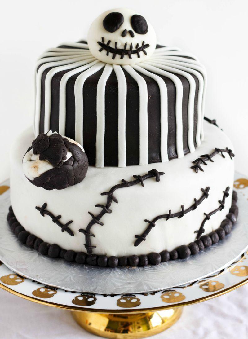 100+ Cute and Creepy Halloween Cake Ideas Nightmare