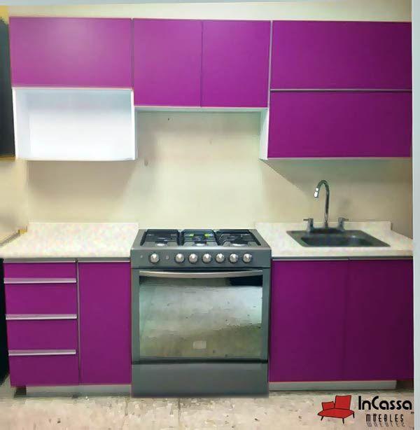 Cocina Mod. PEKIN 2.40m. PRECIO: Diseñada para ESTUFA $6,990 ...
