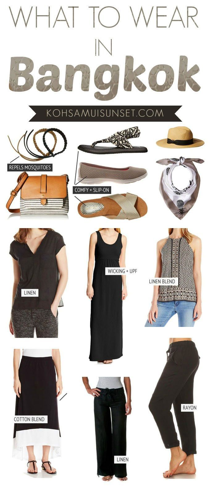 Bangkok, Thailand: What to wear in Bangkok? The Ultimate Thai Dress Code Guide… click through to read more: www.kohsamuisunse...   Bangkok travel