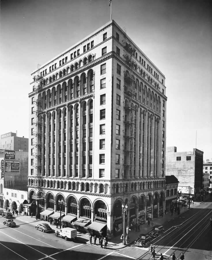 Los Angeles 1925 Edwards Wildey Building 1925 Los Angeles Noir Scale Model Architecture California History Los Angeles