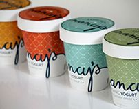 Nancy's Yogurt #packaging #love #like #sweet