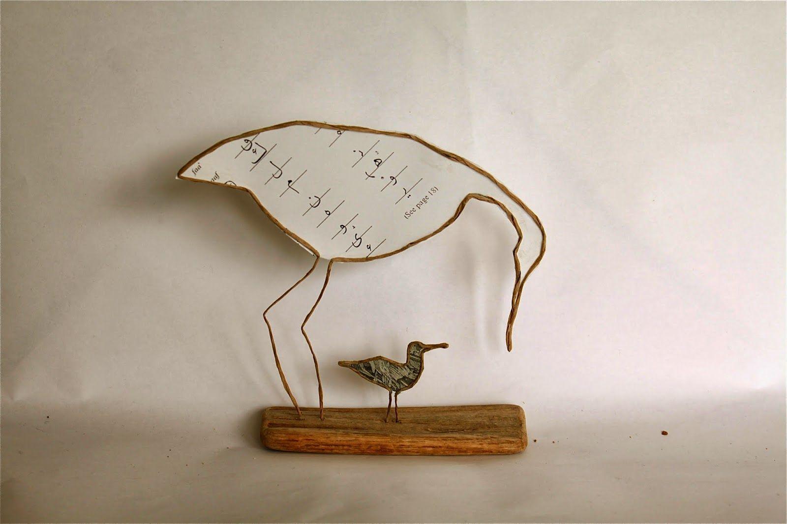 Epistyle ~ paper birds | Paper Crafts | Pinterest | Drahtfiguren ...