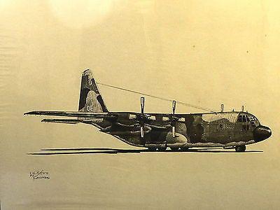 AVIATION ART PRINT SIGNED LIMITED EDITION C-130 PROP AIRCRAFT BRUCE KONVES Collectibles:Transportation:Aviation:Military Aircraft:Photos & Prints:Prop Driven Aircraft www.webrummage.com $19.99