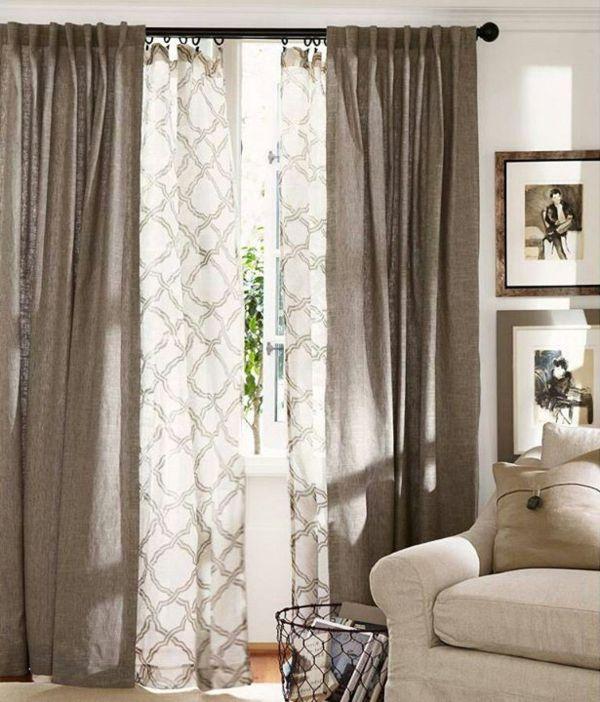 Connu Rideaux pour fenêtre - idées créatives pour votre maison  KH26