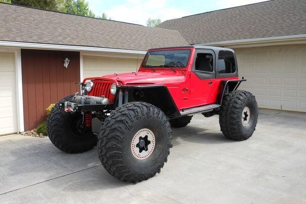 For Sale 1997 Jeep Tj Custom Built Rock Crawler Jeep Wrangler