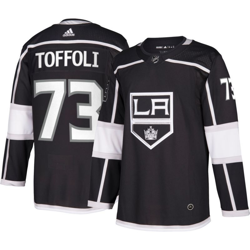 8125346c adidas Men's Los Angeles Kings Tyler Toffoli #73 Authentic Pro Home ...