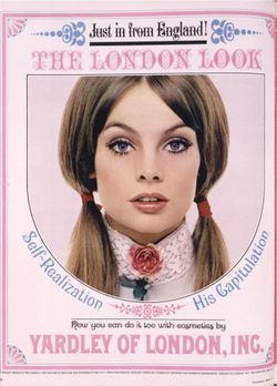 "Yardley's Oh! de London line - anything from ""swingin' England"" in the 60s was IN"