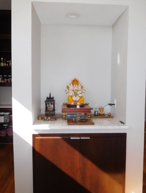 Small Pooja Cabinet Designs and Ideas - Home Makeover | Cabinet ...