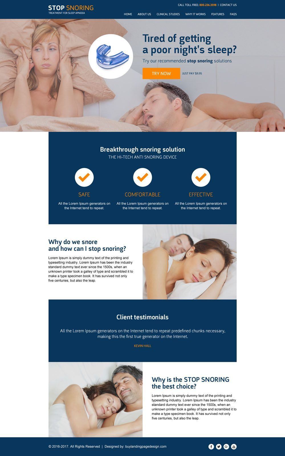 Best Anti Snoring Device 2016 Best Responsive Html5 Website Template Designs Website Templates